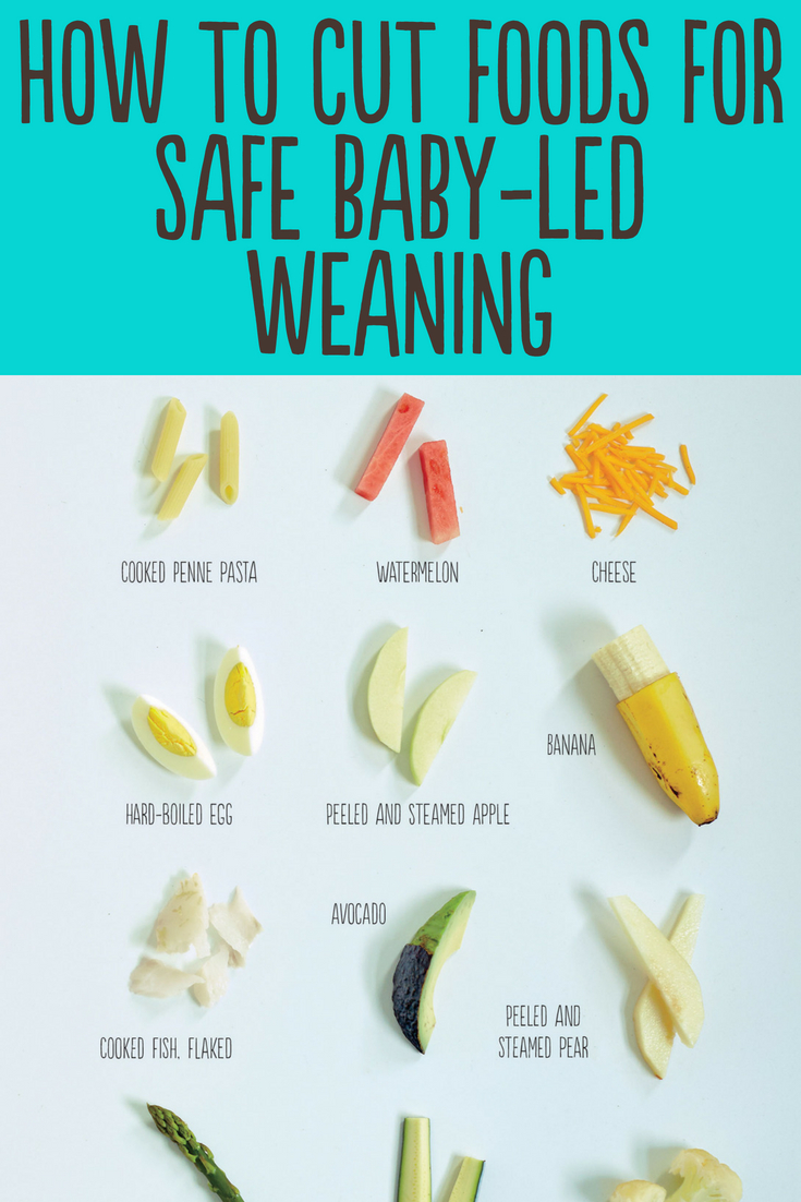 How To Cut Foods For Baby Led Weaning Jenna Helwig