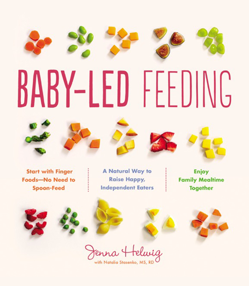 Image of Baby-Led Weaning cookbook cover