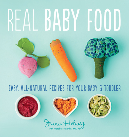 Real Baby Food cookbook cover