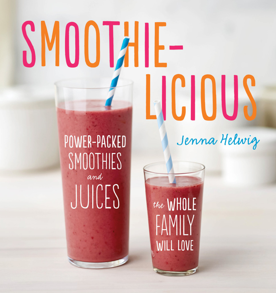 The Smoothie-licious cookbook is packed with 75 healthy smoothie and juice recipes for kids. #smoothierecipes #smoothiesforkids