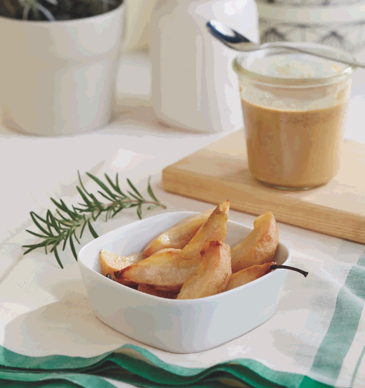 Rosemary Roasted Pears