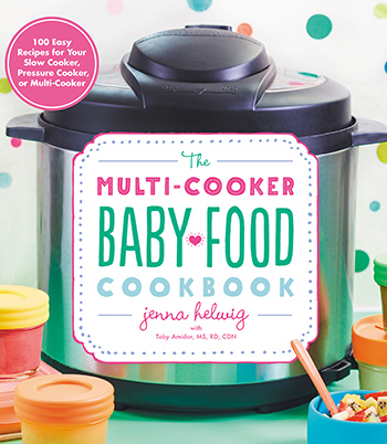 The Multi-Cooker Baby Food cookbook cover