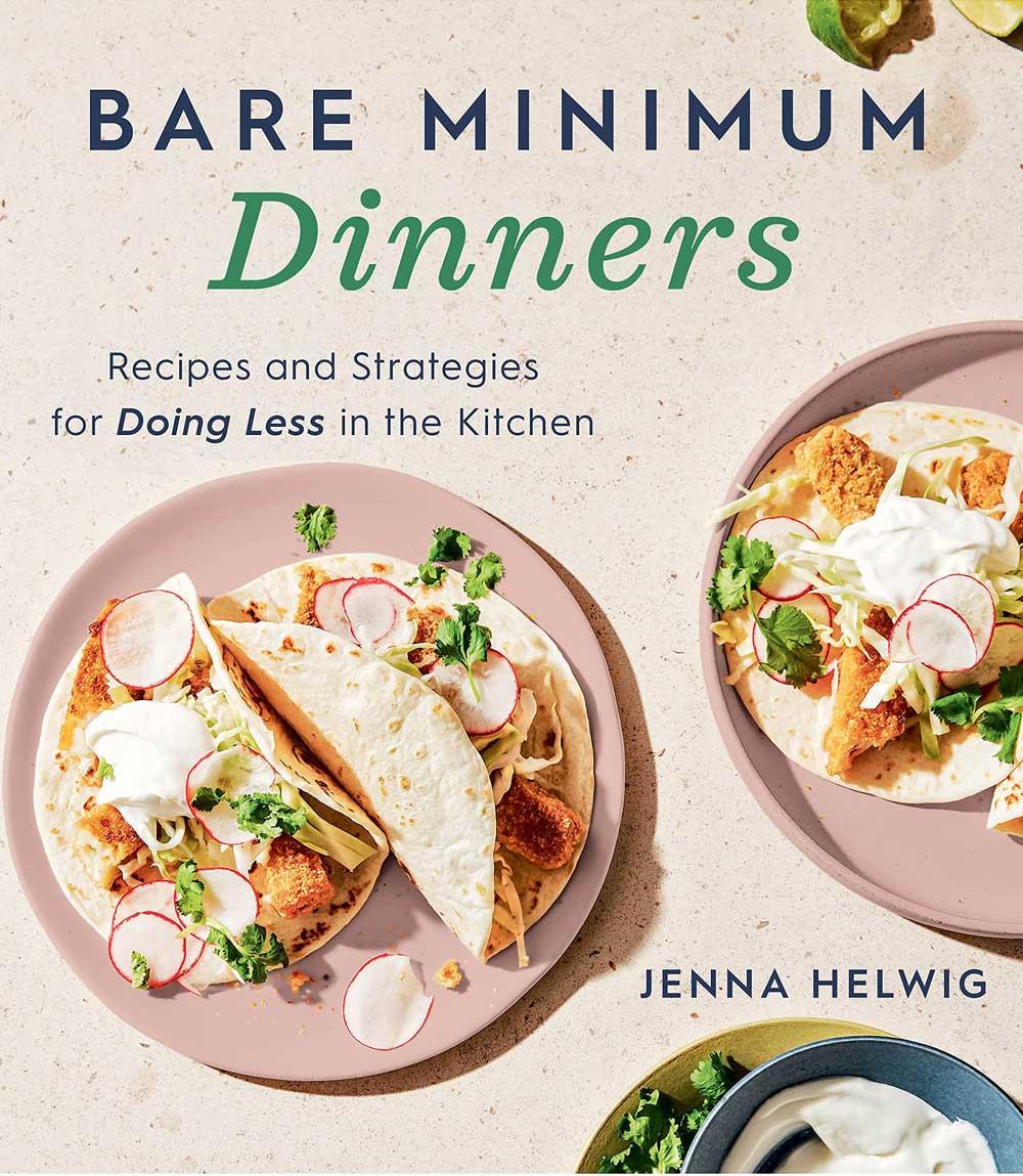 Bare Minimum Dinners cookbook cover